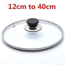 reinforced glass lid tempered wok lid
