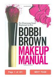 bobbi brown makeup manual bobbi brown