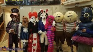 alice in wonderland crew costume easy