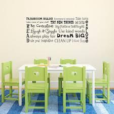 Play Room Rules Wall Decal Playroom Rules Quote Children Etsy Playroom Wall Decals Kids Wall Decals Playroom Rules