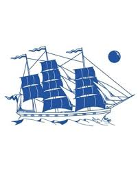Discover Deals On Ship Wall Decal Gentian 59 X36