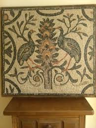 copy of a roman mosaic of aquileia
