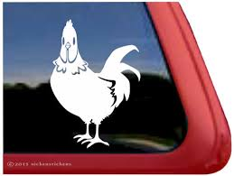 Custom Rooster Decals Stickers Nickerstickers