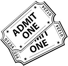 Vinyl Wall Decal Movie Tickets Cinema Theater Film Decor Stickers Large Decor Wish