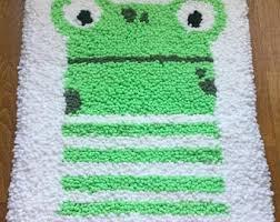 Frog Rug Etsy