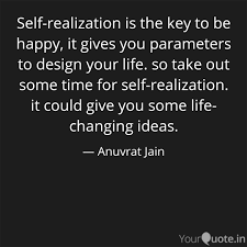 self realization is the k quotes writings by anuvrat jain