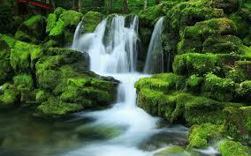 hd wallpaper waterfall