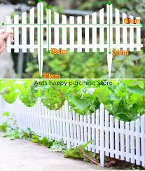 5pcs plastic garden fence easy assemble