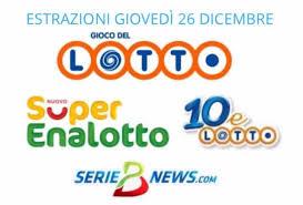 Lotto, SuperEnalotto e 10eLotto 26 dicembre 2019: jackpot a 52,4 ...