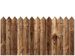 Wooden Fence Over The White Backgroynd Stock Image Colourbox