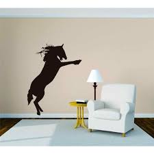 Wild Equestrian Horse Galloping Mural Vinyl Wall Decal Bedroom Decoration Kids Boy Girl Teen Dorm Room Children 15x20 Walmart Com Walmart Com