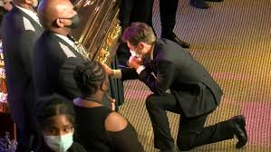 Minneapolis Mayor Jacob Frey cries in front of George Floyd's casket - St.  Lucia News Online