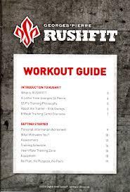 rushfit workout guide pdf doent