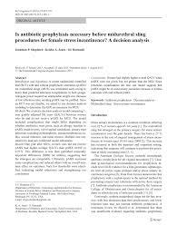 pdf is antibiotic prophylaxis