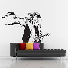 Kuchiki Byakuya From Bleach Vinyl Wall Art Decal