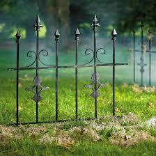 Gothic Metal Fence Grandin Road
