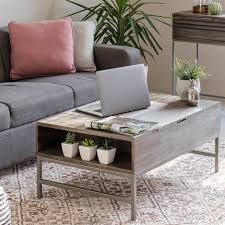 norris lift top storage coffee table