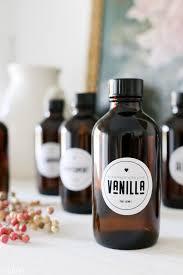 printable vanilla extract labels tidbits
