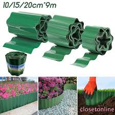 Cod Plastic Graden Grass Lawn Edge Edging Plant Border Fence Wall Drivway Roll Path Cl Shopee Philippines