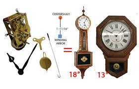 american clock movement reproductions
