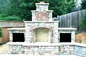 small outdoor fireplace matthewdesign co