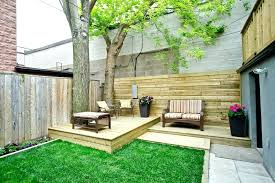 decking patio lawn floating deck ideas