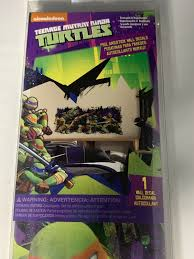 Roommates Rmk2251gm Teenage Mutant Ninja Turtles Ralph Peel And Stick Giant Wall For Sale Online Ebay