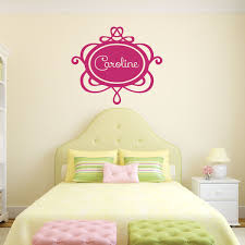 Custom Name Decal For Girls Vinyl Decor Wall Decal Customvinyldecor Com
