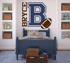 Removable American Football Boy Room Sports Home Decal Wall Stickers Wallpaper Ebay