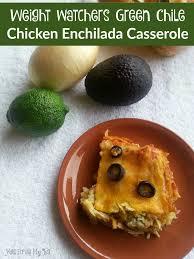 green chile en enchilada cerole