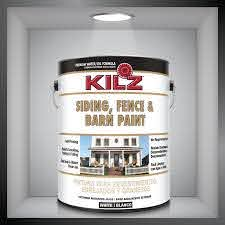 If Your Shed Or Fence Have Seen Better Days You Might Need To Grab A Gallon Of Kilz Siding Fence And Barn Paint This Product Co Kilz Kilz Paint Diy Painting