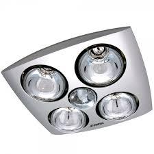 martec contour 4 x 275w heat lamp