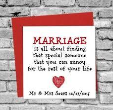 card gift anniversary bride groom
