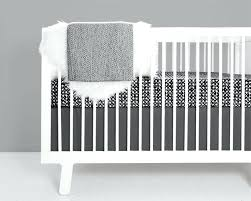 black white crib bedding modern nursery