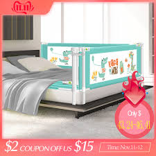 Baby Bed Fence Safety Gate Products Child Barrier For Beds Crib Rail Security Fencing For Children Guardrail Safe Kids Playpen Buy At The Price Of 62 02 In Aliexpress Com Imall Com