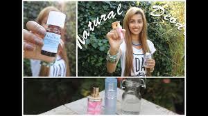 diy easy natural deodorant spray