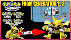 Pokemon Emerald/Ruby/Sapphire/FireRed/LeafGreen - All Trade ...