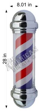 Business Industrial Business Signs 28 X 8 01 Long Term Vinyl Decals 2 Push Pulls Barber Pole Barber Full Color Studio In Fine Fr