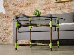 how to make a pvc pipe coffee table