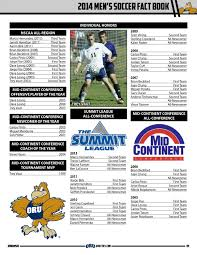 2014 Oral Roberts Men's Soccer Fact Book by ORU Athletics - issuu