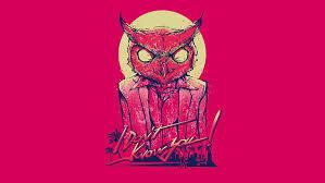 hd wallpaper video games pink owl