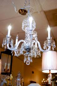 beautiful crystal chandelier rewired