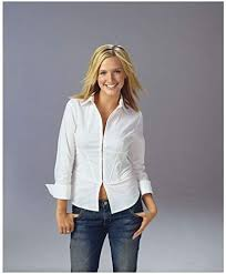 7th Heaven 8 x 10 Photo Ashlee Simpson/Cecilia Smith White Shirt & Jeans kn  at Amazon's Entertainment Collectibles Store
