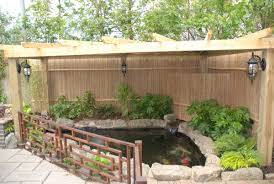 Idea To Cover And Fence A Pond Ponds Backyard Outdoor Fish Ponds Water Features In The Garden