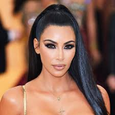 kim kardashian west s throwback makeup look