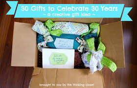 30 gifts to celebrate 30 years the