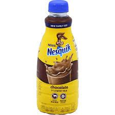 nesquik chocolate 1 lowfat milk family