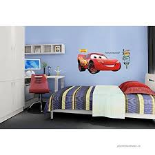 Ufengke Cute Racing Car Cartoon Car Wall Decals Children S Room Nursery Removable Wall Stickers Murals