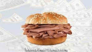 arbys roast beef sandwich get your