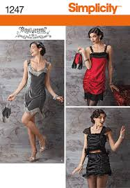 Simplicity Pattern 1247HH 6-8-10-12 -CostumeSimplicity Pattern 1247HH  6-8-10-12 -Costume, | Flapper costume, 1920s flapper costume, Fringe  flapper dress